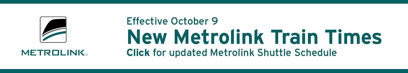 Thousand Oaks Transit Metrolink Commuter Shuttle Update Banner Image