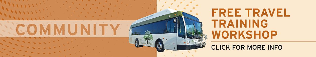 Thousand Oaks Transit Travel Training Workshop Banner Image