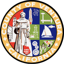 County of Ventura Seal Logo Image