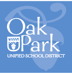 Oak Park Unified School District Seal Logo Image