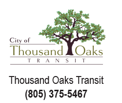 Thousand Oaks Transit logo with contact number