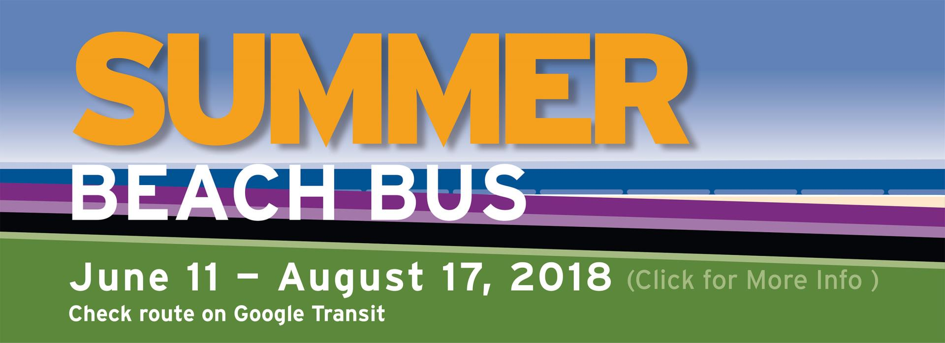 Thousand Oaks Transit Summer Beach Bus Banner Image for Document