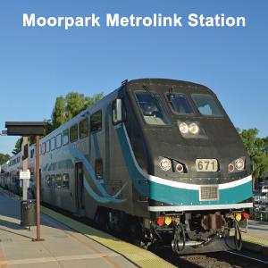 Photo of Metrolink Train at Moorpark Metrolink Station