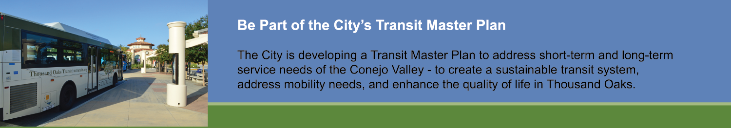City Transit Master Plan Header