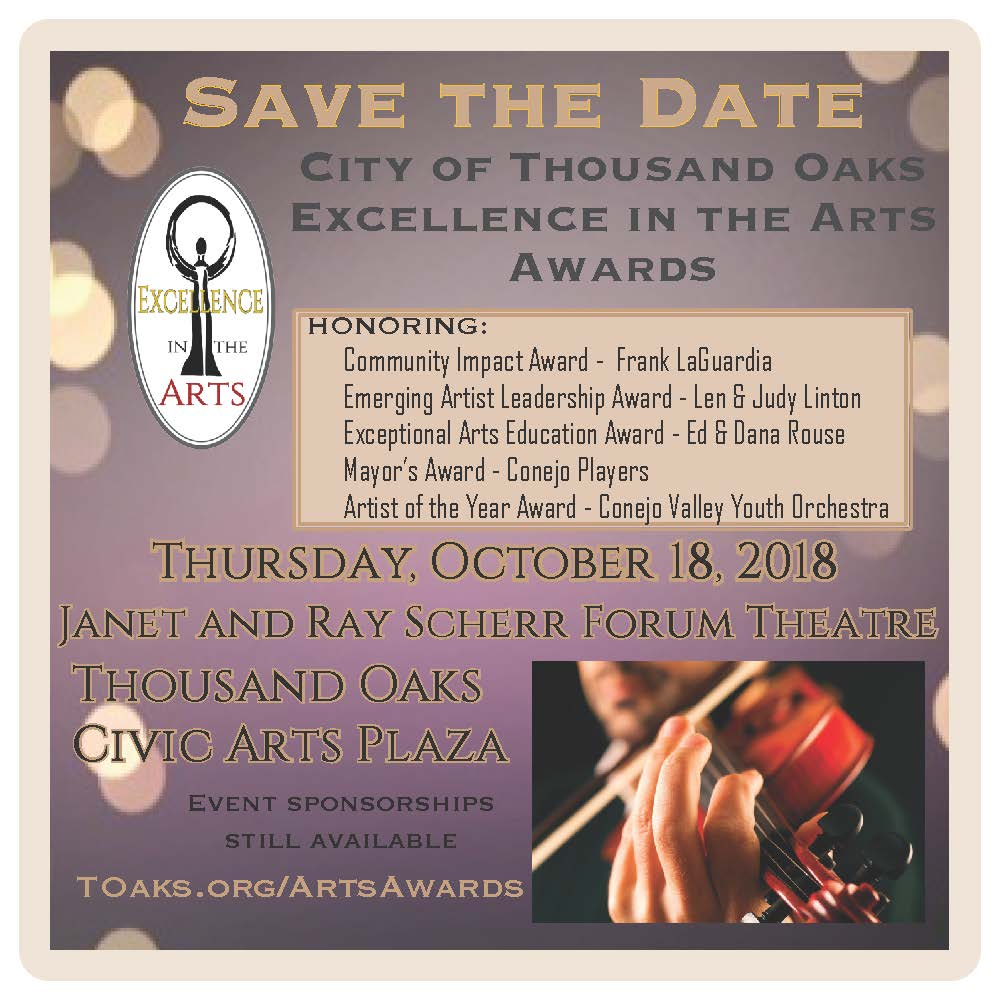 2018 Save the date with honorees
