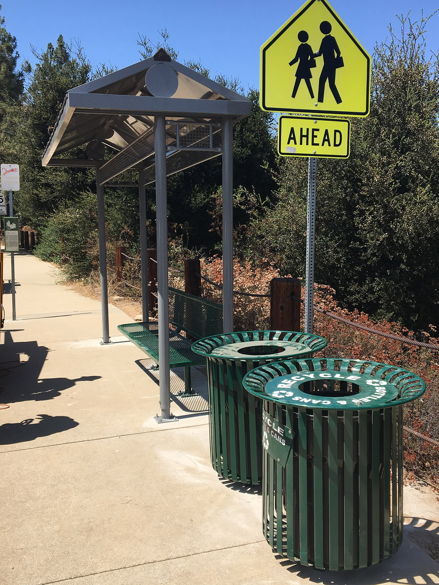 Thousand Oaks Transit Kanan Shuttle Bus Stop Improvement Image 1