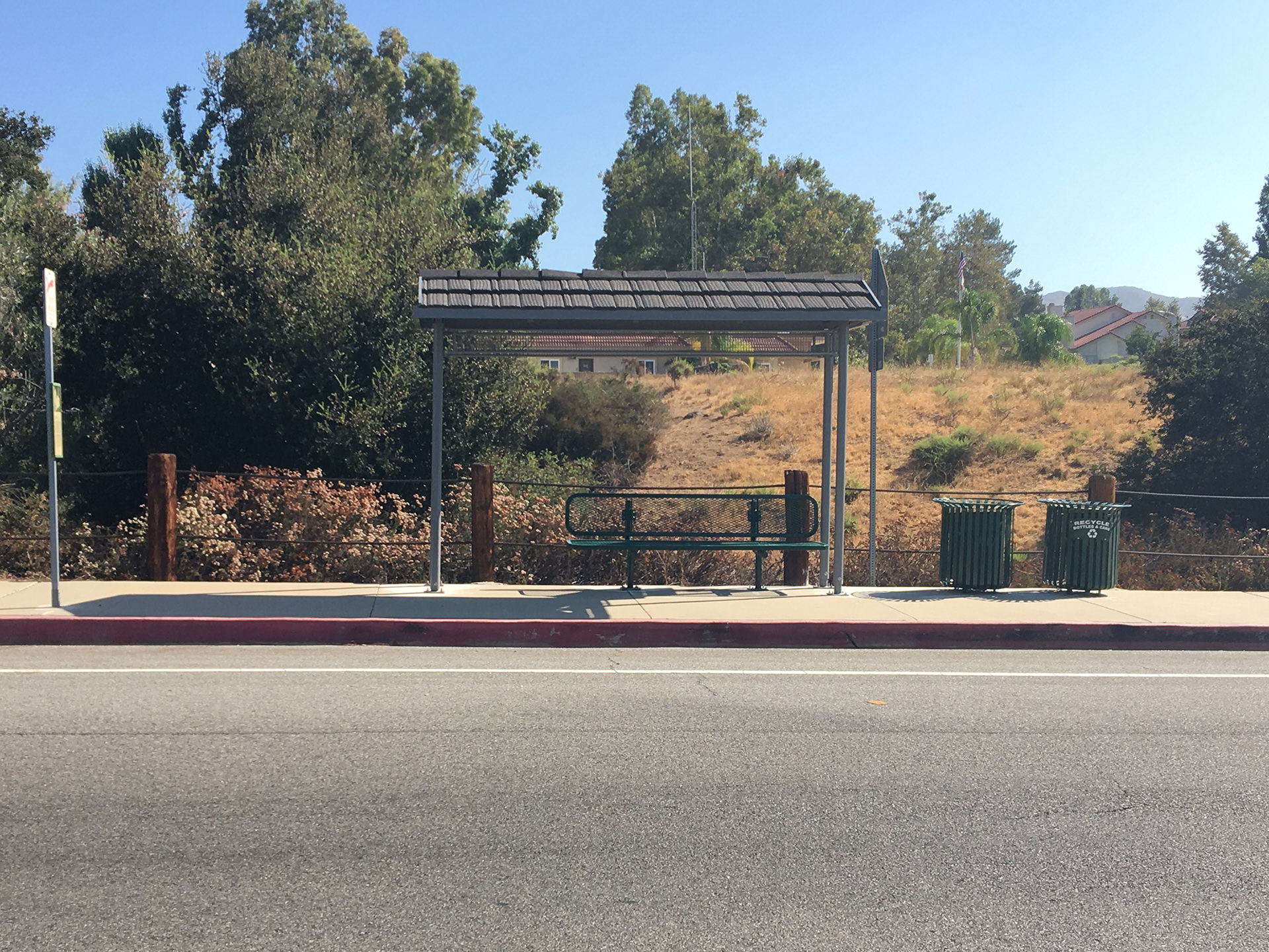 Thousand Oaks Transit Kanan Shuttle Bus Stop Improvement Image 2