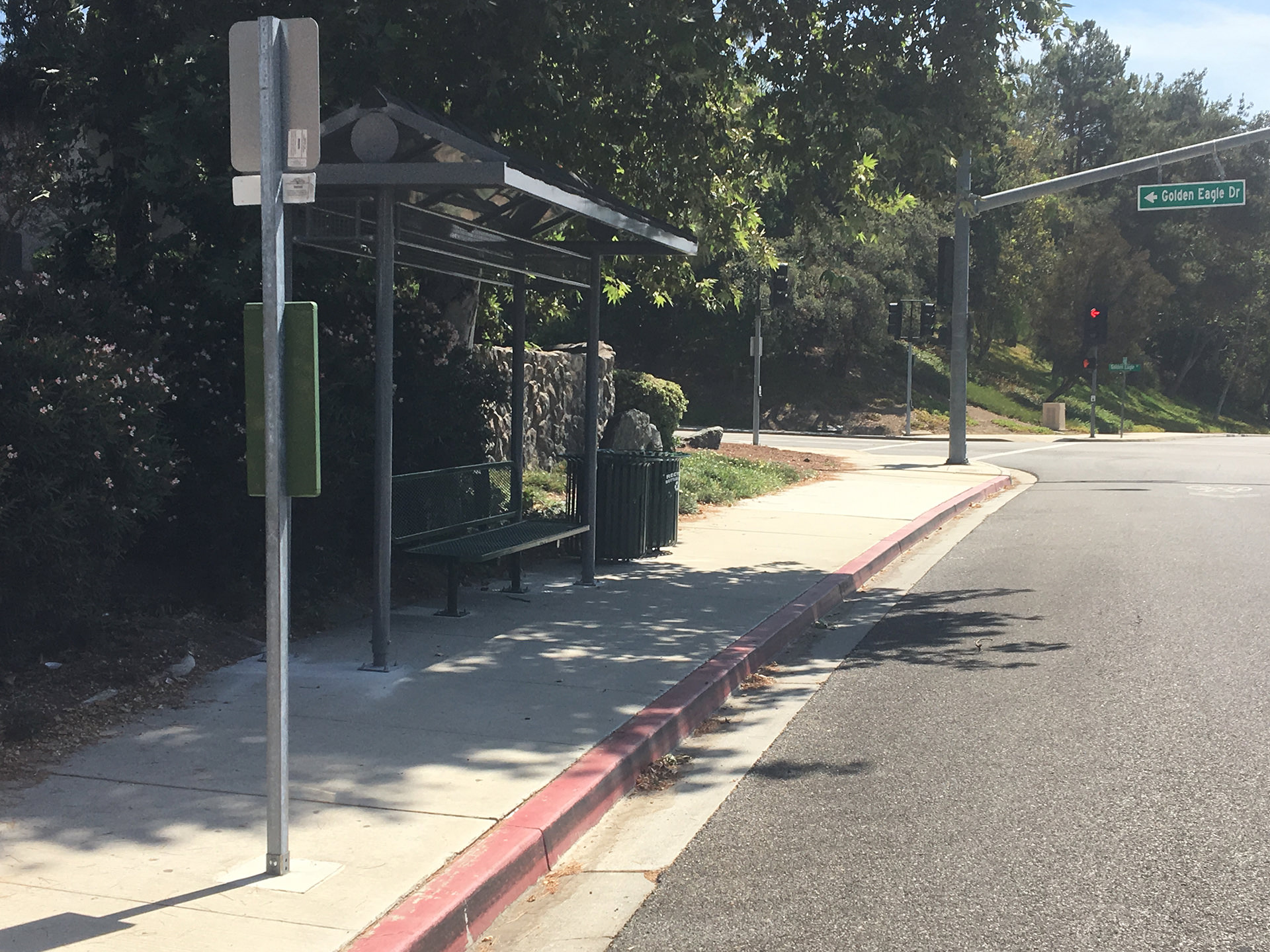 Thousand Oaks Transit Kanan Shuttle Bus Stop Improvement Image 3