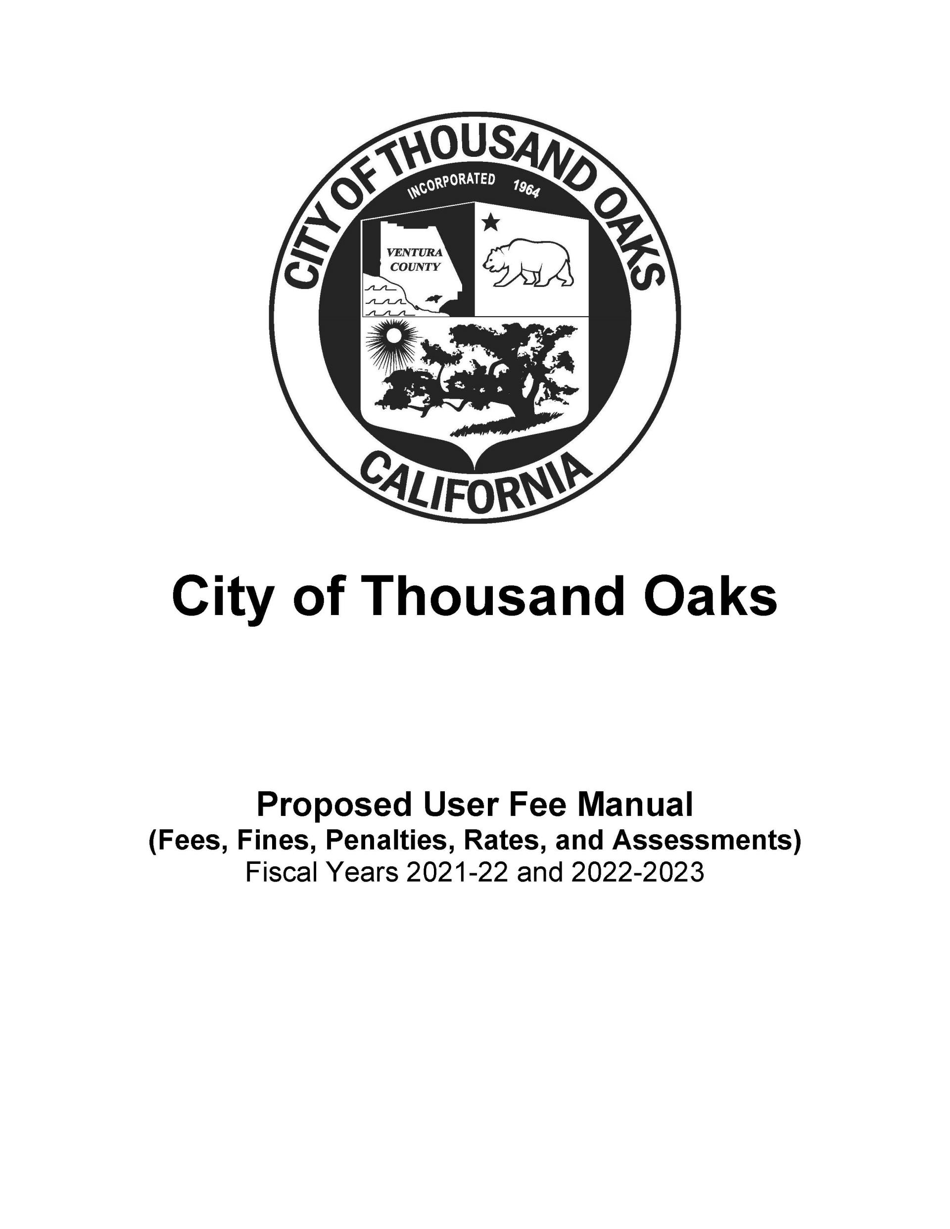 User Fee Book Cover