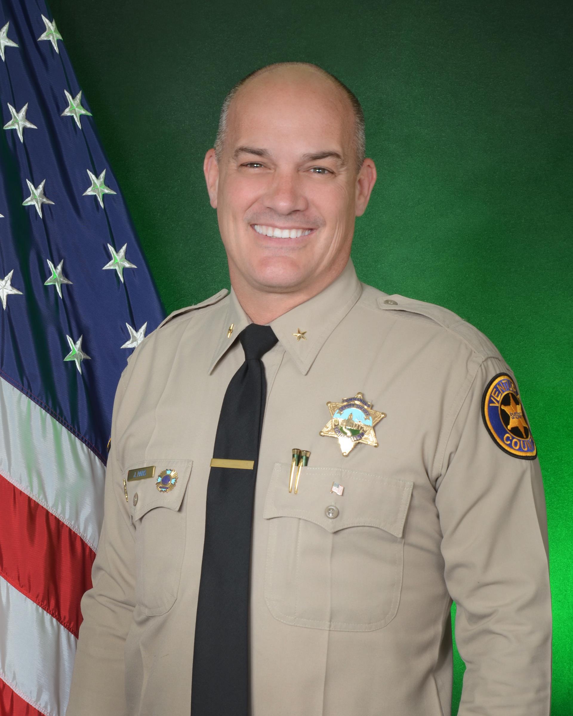 Commander Jeremy Paris