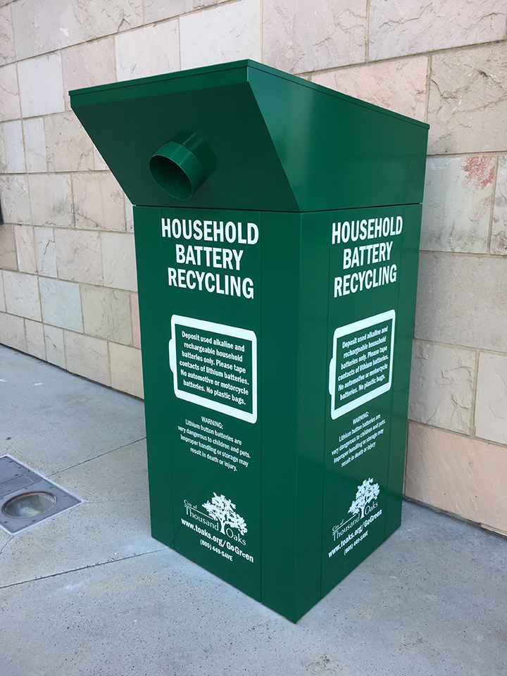 City Hall green battery  bin low res