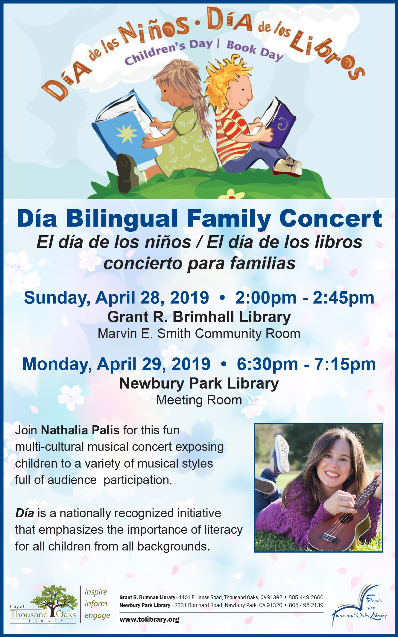 Día Bilingual Family Concert - English