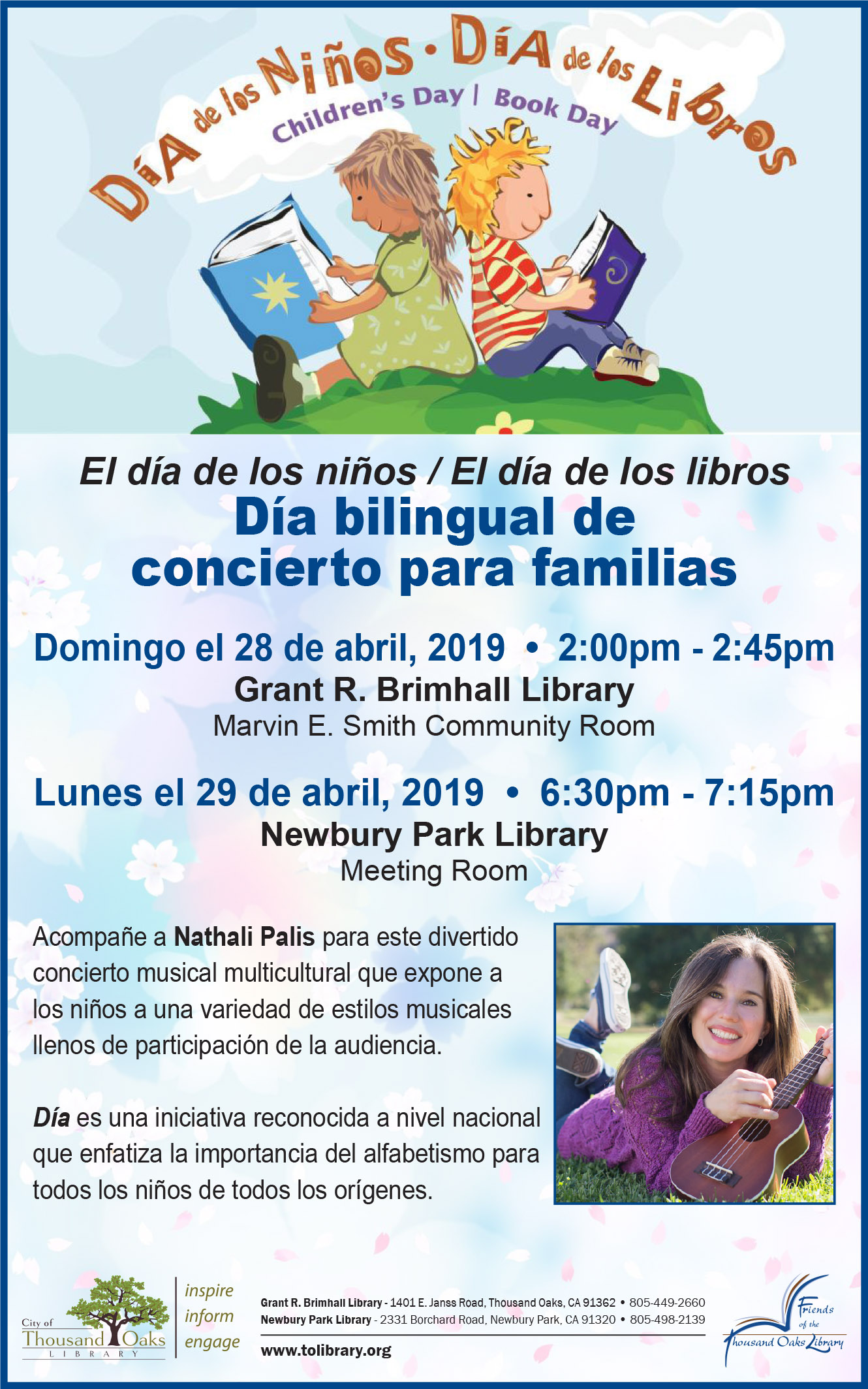 Día Bilingual Family Concert - Spanish