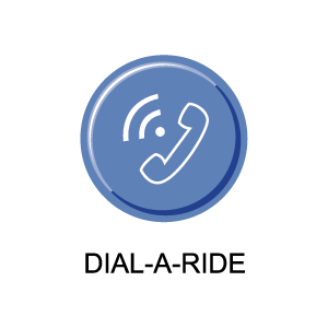 Dial-A-Ride Button