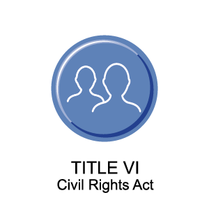 Title VI Civil Rights Button
