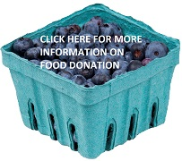 FOOD DONATION BUTTON BERRIES